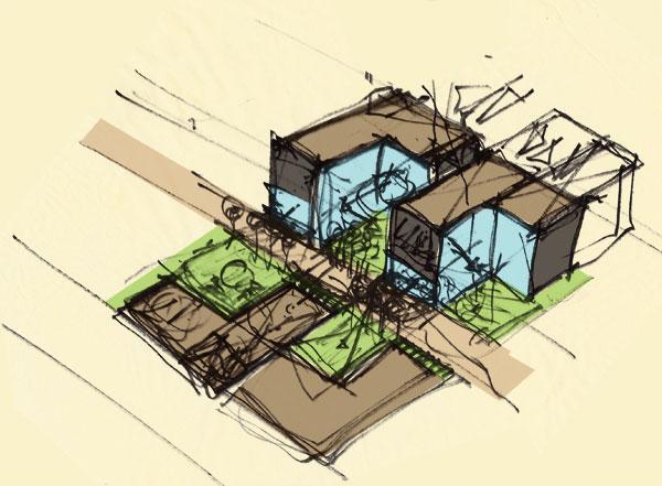 Oklahoma Modern Architect Concept