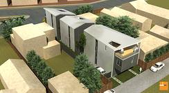 ULI tour 726 California small lot subdivision