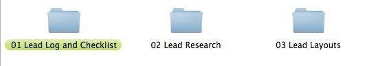 architecture lead folder structure