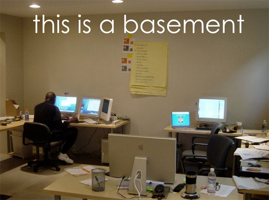 Attirant Basement Architects Office