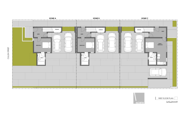 Art District Small Lot Homes Cullen 1st Floor Plan resized 600