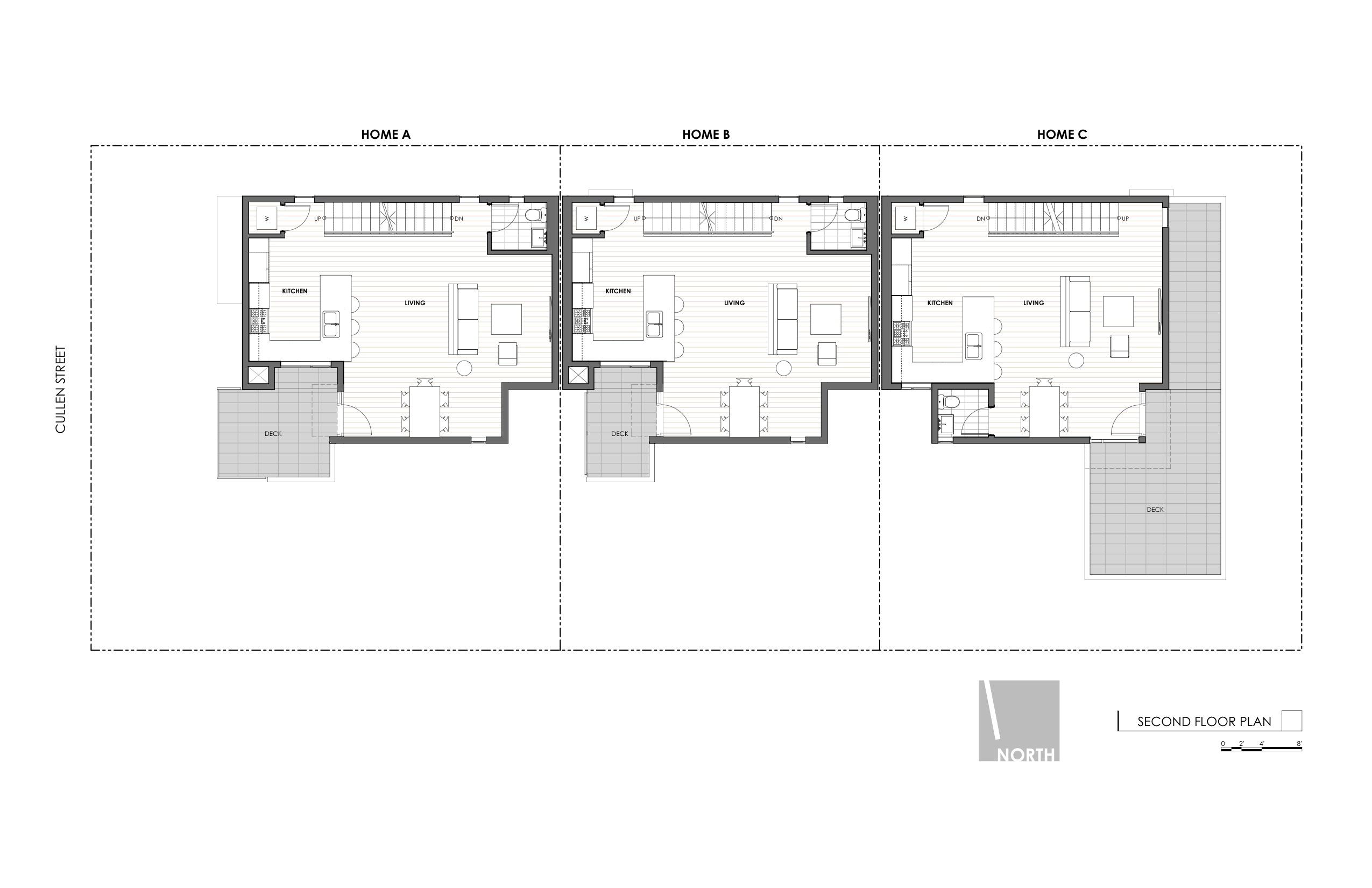 Art District Small Lot Homes Cullen 2nd Floor Plan
