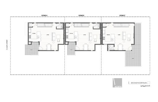 Art District Small Lot Homes Cullen 2nd Floor Plan