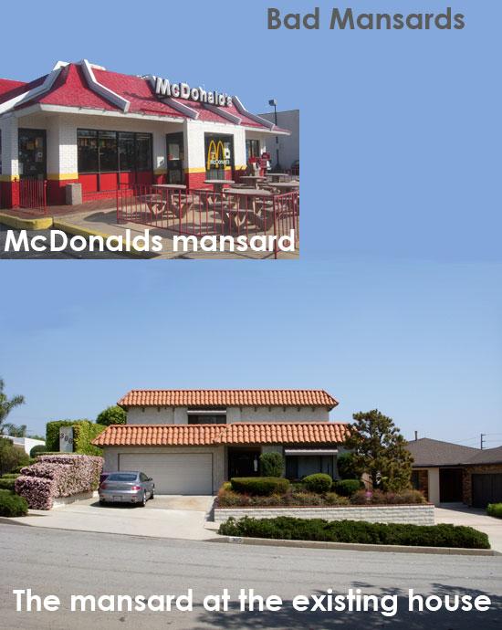 mansard roof remodel