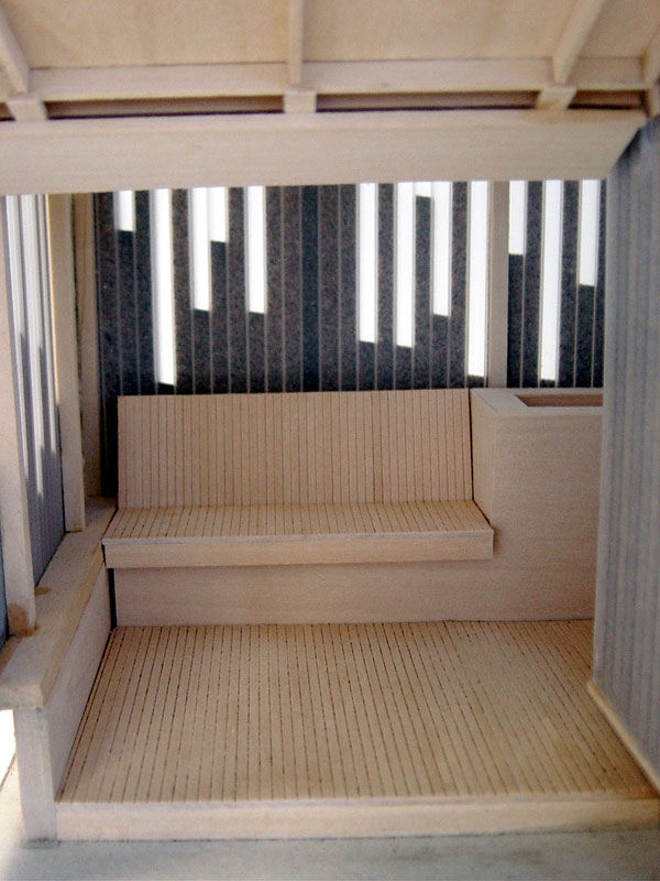 Inside Beach Hut