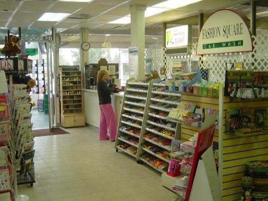 existing cashier area