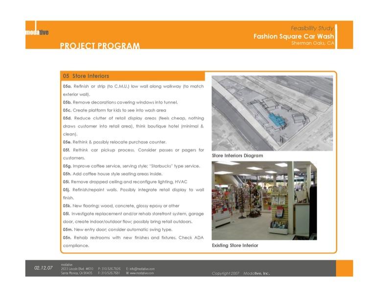 store interiors program