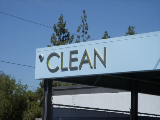 clean sign