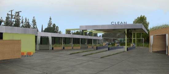 Modern car wash architect fashion square car wash retail architects rendering malvernweather Gallery