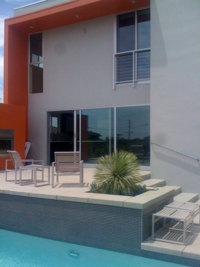 modern pool remodel