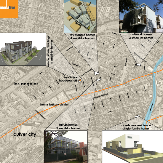 Culver City Arts District Project Map