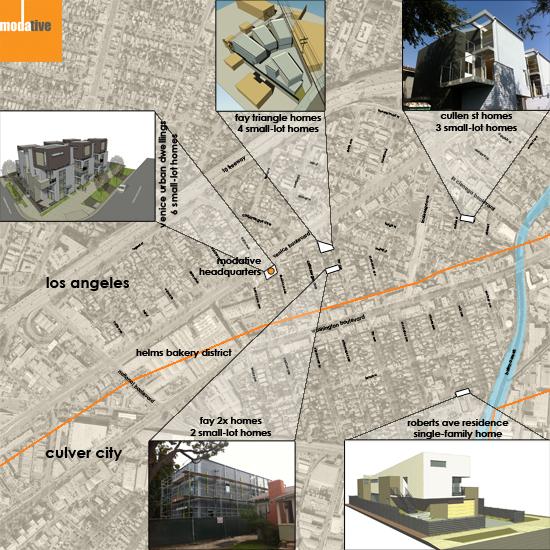 Culver City Arts District Project Map