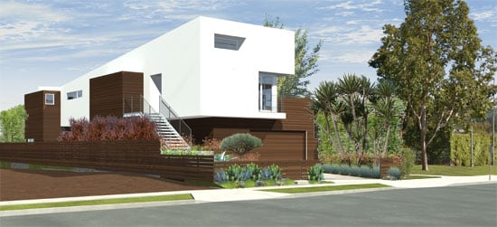 culver city modern home architect roberts