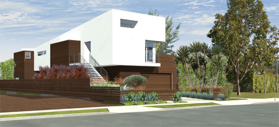 Home Architect roberts ave residence modern home culver city architects