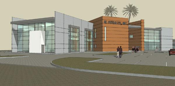 mount vernon office building modern office building