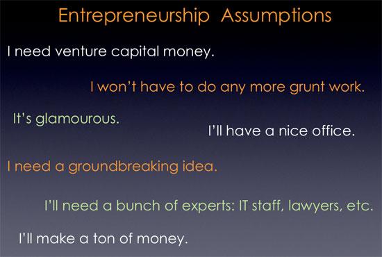 Entrepreneurship Misconceptions