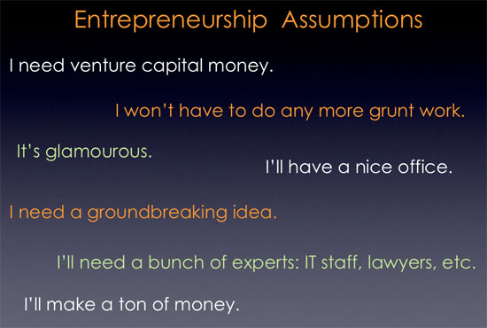 Entrepreneurship Misconceptions