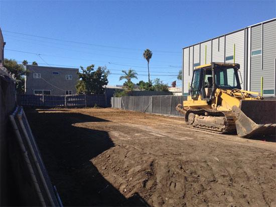 fay 3x homes construction grading