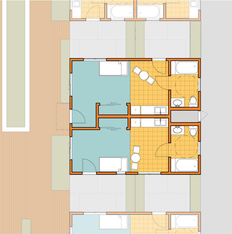 homeless housing plans bungalow rehab