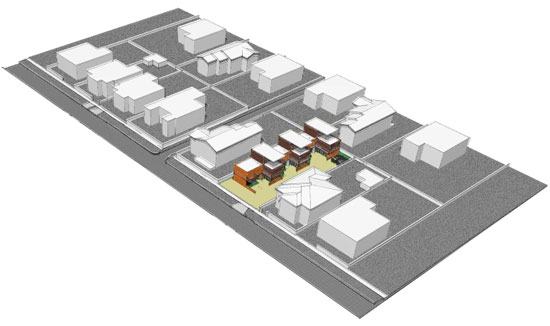 Los Angeles Zone RD1.5 Small Lot Subdivision Development