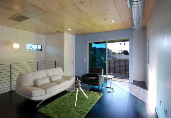 los angeles architects small lot subdivision interior