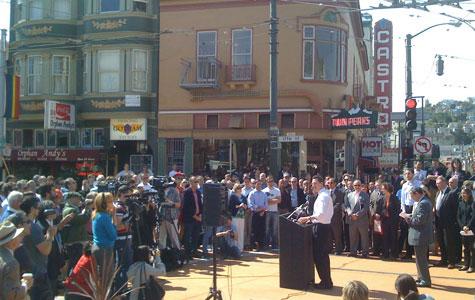 mayor at architectur event