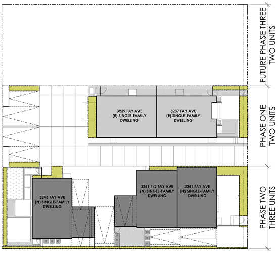 Modern Apartment Site Plan Los Angeles