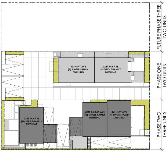 Modern Apartment Site Plan Los Angeles