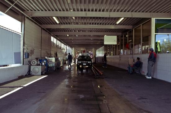 car wash tunnel