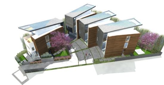 Modern Small Lot Homes Triangle Fay