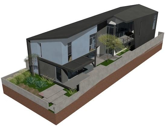 modern spec home architects venice vernon