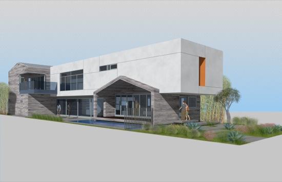 milwood ave modern spec house venice california architects