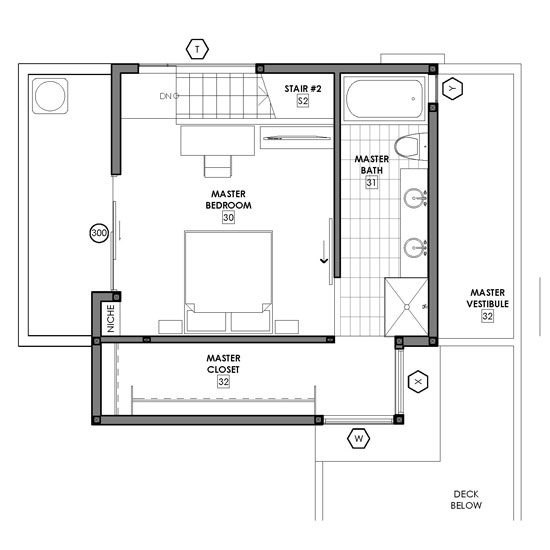 small master bathroom floor plans.  small modern home plans A Healthy Obsession with Small House Floor Plans
