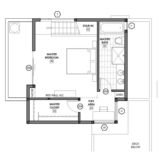 Small house layout sample