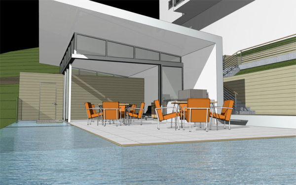 pool house architect los angeles