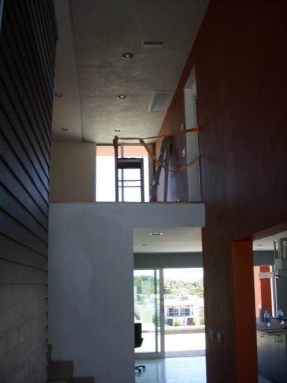 modern homes loft office