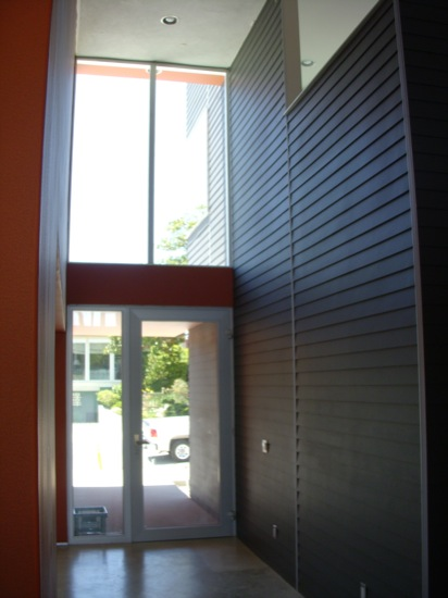 modern homes entry
