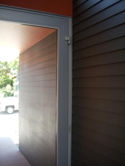 modern entry door