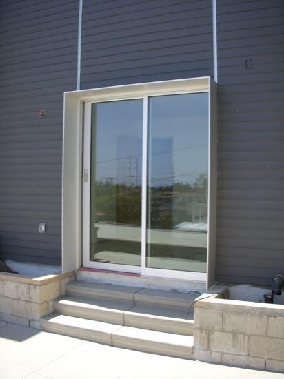 modern homes door