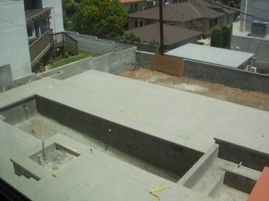 modern pool construction