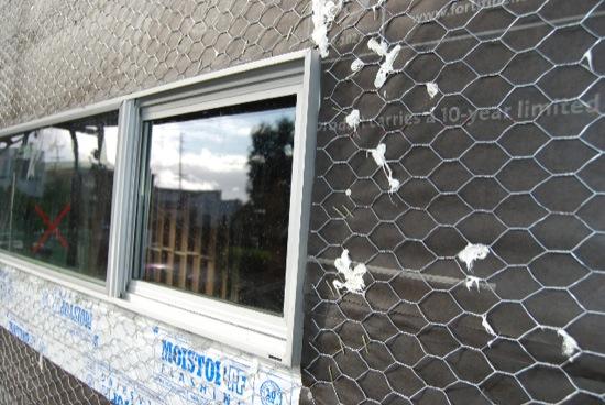 long beach modern remodel metal window detail