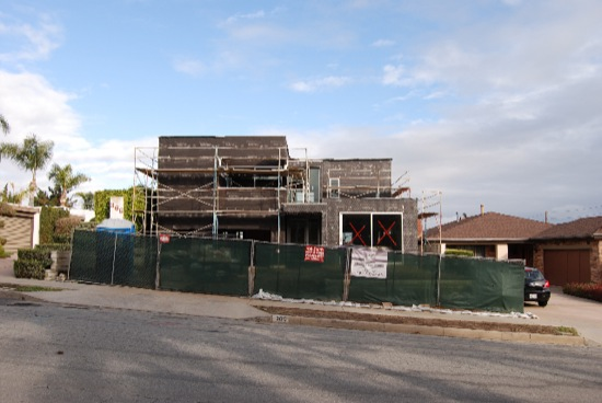 Long Beach Modern Remodel Front