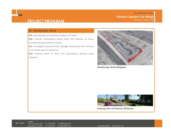 Architecture Program