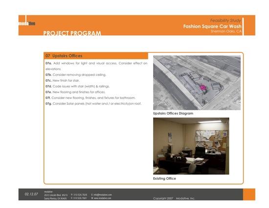 office program architect
