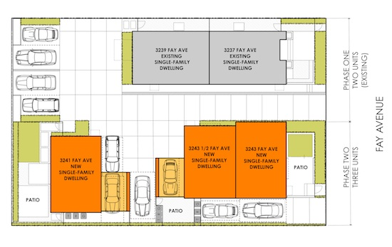 Site Plan Homes Modern Townhomes Fay 3X Homes