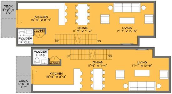 small house plans la architect small lot