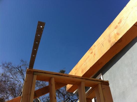 wood framing strap