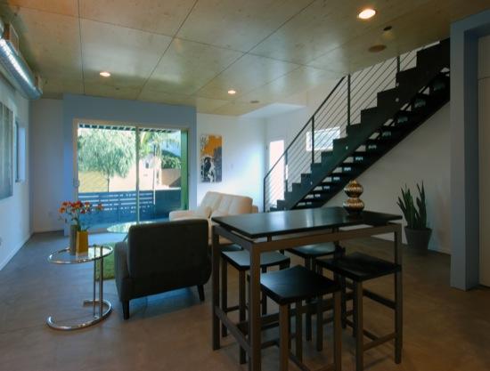 small lot subdivision architect modern home