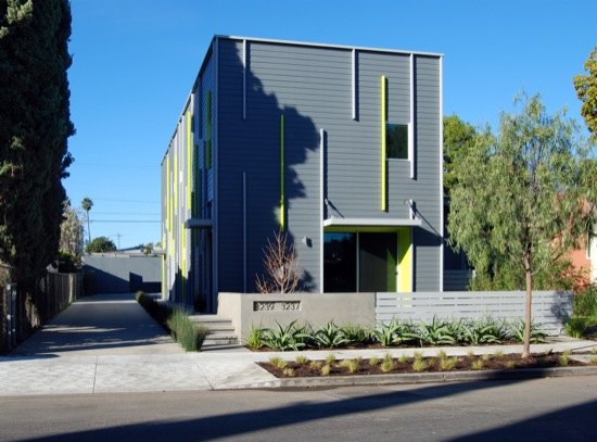 small lot subdivision architects modern los angeles fay