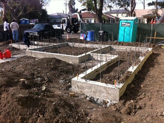 small lot subdivision homes foundation